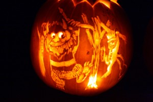 Where the Wild Things Are jack-o-lantern ~ ElephantEats.com