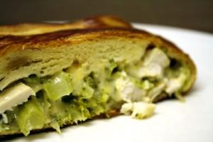 Broccoli Chicken Cheese Braid ~ ElephantEats.com