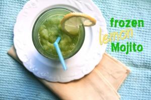 Frozen Lemon Mojito