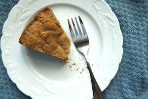 Whole Wheat Cookie Cake