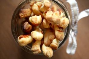 Cheddar Herb Twists