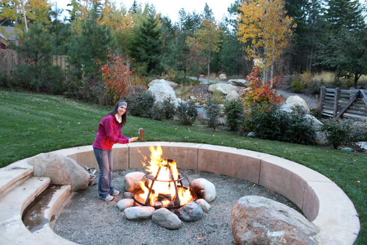 Outdoor Fire Pit Suncadia