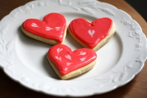 Valentine Sugar Cookie Heart