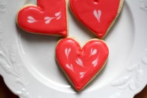 Valentine Sugar Cookie Heart