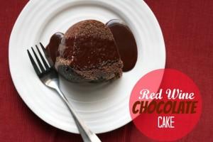 Red Wine Chocolate Cake ~ ElephantEats.com