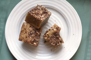 Toffee Blondies ~ ElephantEats.com