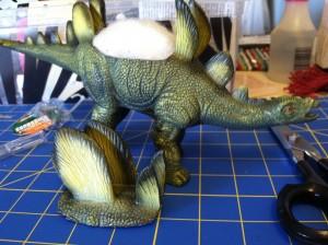 DIY Dinosaur Planter ~ ElephantEats.com