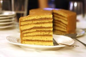 Butterscotch Cake ~ ElephantEats.com