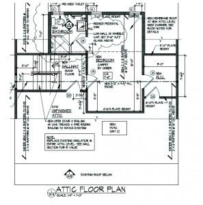 "Third Floor Plan ""After"""