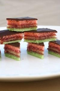 Rainbow Cookies ~ ElephantEats.com