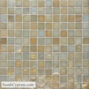 Iridescent mosain tile
