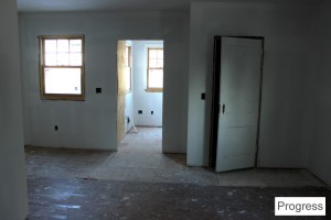 Kitchen to Mudroom Progress2 ~ ElephantEats.com