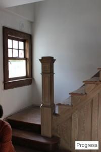 Stair Progress 2 ~ ElephantEats.com